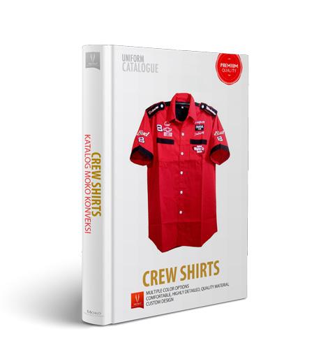 desain crew shirts moko konveksi