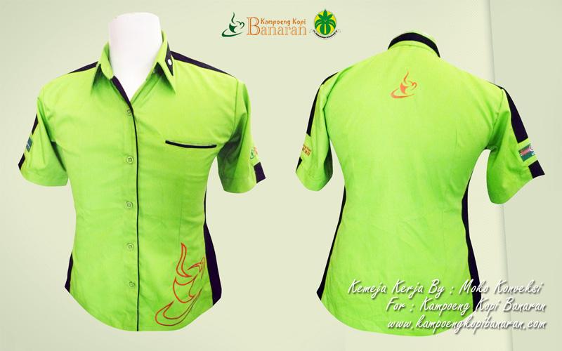 Model Baju Seragam PTPN IX Kampoeng Kopi Banaran