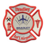 Bikin Patch Bordir Combo Badge A Misture Bradley Airport