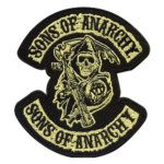 Jual Patch Bordir Badge Distressed Embroidery Badge