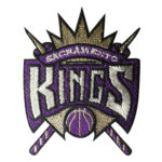 Tempat Bordir Baju & Bordir Badge Sacramento Kings Embroidery
