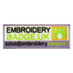 Jasa Pembuatan Bordir Logo Baju Emblem Embroidery Badge
