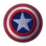 Buat Patch Bordir Emblem Custom Logo Iconic Super Hero Fans