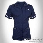jual seragam putih perawat - baju oka