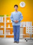 desain baju perawat laki-laki