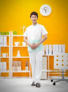 Baju Seragam Klinik Ransiki - seragam baby sitter murah
