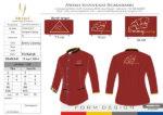 Konveksi Baju Seragam Catering Merah