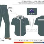 Baju Seragam Sopir KIW