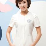 Model Baju Kerja Warna Putih Untuk Seragam Dinas Perawat Rumah Sakit