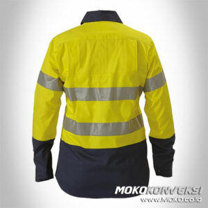 Jual Wearpack Safety Wanita Warna Kuning Biru Scotlite