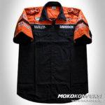 Contoh Baju Seragam Kerja Lapangan Baju Kemeja Online Seragam Kru HARLEY DAVIDSON RACING PIT SHIRT
