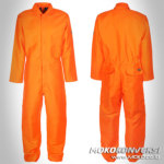 Jual Baju Wearpack Coverall Warna Orange Polos Online