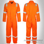wearpack montir - baju safety murah