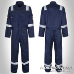 Baju Kerja Safety Bone - wearpack mekanik