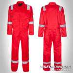 Bikin Wearpack Masohi - Seragam Safety Officer Masohi
