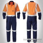 baju wearpack mekanik - Wearpack Safety Murah Bone