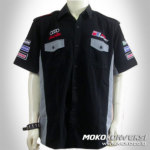 Model Kemeja Pria Baju otomotif racing team crew shirt 3