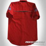 design baju komunitas - Contoh Kemeja Club Motor Langara
