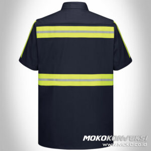 baju safety model baju wearpack safety terbaru