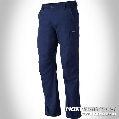 celana safety biru dongker