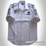 Desain Baju Kemeja Seragam bmw f1 sauber team racing shirts