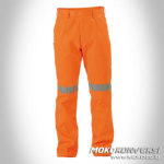 Celana Setelan Wearpack Pants Safety Orange Scotchlite