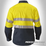 Mens Safety Wearpack Yellow Scotchlite