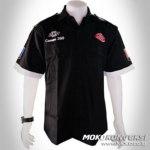 model baju kerja kombinasi - Desain Kemeja Club Bandung Barat