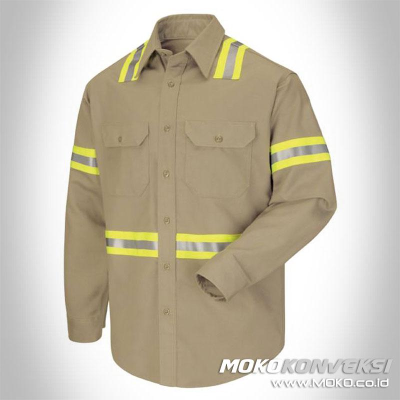 desain baju wearpack mekanik daftar harga wearpack safety terbaru
