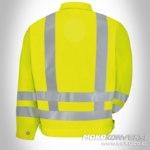 pakaian safety baju keselamatan kerja kuning lengan panjang