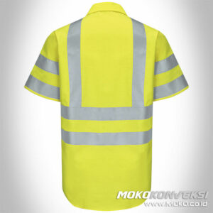 pakaian safety baju seragam safety kuning reflector scotchlite