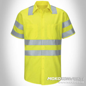 pakaian safety jual baju safety online kuning reflector scotchlite