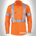 pakaian safety tempat beli baju wearpack k3 orange lengan panjang