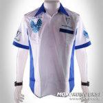Trend Baju Kemeja Kerja Pria | Pabrik Baju Crew Pontiac Firebird | Warna Putih