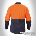 Werepack orange mens safety wear