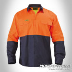 Wearpack listrik orange mens safety wear