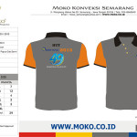 Desain Kaos Polo shirt Bank Cab Sani Papua
