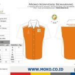 Desain Baju Seragam Praktek SMK Jurusan Teknik Survey Pemetaan