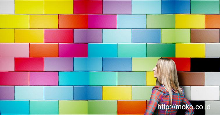 Jumlah warna yang akan dipadukan | Berapa banyak warna yang akan anda pakai ?