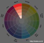 kombinasi warna monochromatic