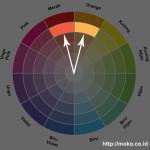 kombinasi warna analogous 2 warna