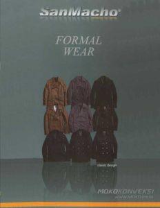 Design Formal Wear Bahan San Macho kain untuk design seragam kerja terbaru