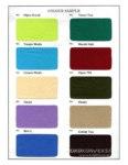Pilihan warna bahan Kain Cotton 2 Bahan Kain Untuk Kaos Seragam Polo Shirt