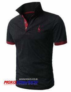 grosir polo shirt branded murah - polo shirt garis
