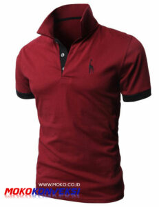 t shirt kerah - kaos polo shirt