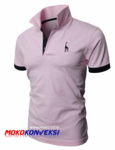 harga kaos polo shirt bordir - foto kaos polo