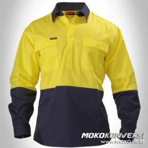 Seragam Safety Officer Maros - baju kerja safety