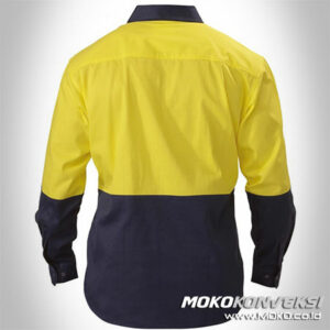 Kemeja Safety Paser - wearpack murah
