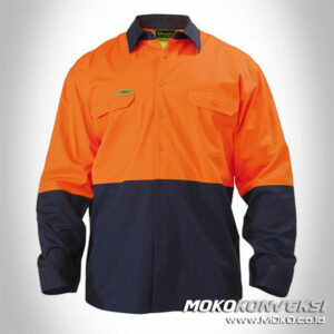 Wearpack Safety Airmadidi - kemeja safety lapangan