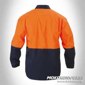 Seragam Safety K3 Pangururan - wearpack safety murah